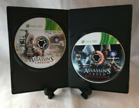 Assassins Creed III & Revelations (Microsoft Xbox 360) Tested - Disc Only