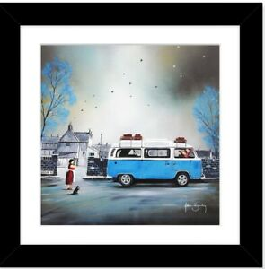 Adam Barsby- Great Escape- Framed Print 27cmx27cm