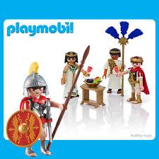 * Playmobil History * Roman Tribune + Caesar & Cleopatra  * Sealed in Packet *