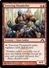 MTG Magic GTC - (4x) Towering Thunderfist/Poing-de-foudre imposant, English/VO