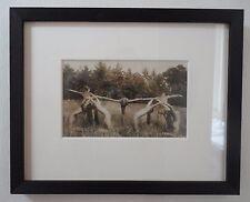 Antique German Nude Expressionist Dancers Photograph circa 1920