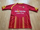Mens Reebok Lens Home football shirt 2009 - 2010 Size M