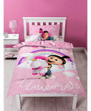 Despicable Me Daydream Unicorn Duvet Set Polyester-cotton Pink Single