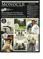 MONOCLE, A BRIEFING ON GLOBAL AFFAIRS, BUSINESS, CULTURE & DESIGN,JUL / AUG,2016