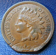 Indian Head Cent Double Struck Error Coin No Date US Coin #9171