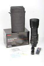 Sigma 150-500mm f/5-6.3 AF APO DG OS Telephoto Lens EF Canon USA Ser # 14064827