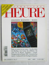 HEURE magazine N°  17 / RADO/Breitling/Cartier célébres/Reverso tourbillon/ IWC