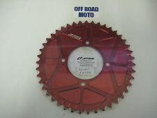 Trials Bike Jitsie Solid Type Rear Sprocket RED, All Sizes!! 41-44T. **FIM**