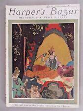 Harper's Bazar - December, 1914 ~~ Edmund Dulac cover ~~ Harper's Bazaar