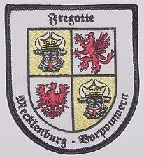 """Marine Patch Aufnäher Fregatte """"Mecklenburg-Vorpommern"""" F218 .............A4140"""