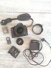 Nikon D5000 12.3MP Digital SLR Camera - Black (Af-s 50mm 1.8)