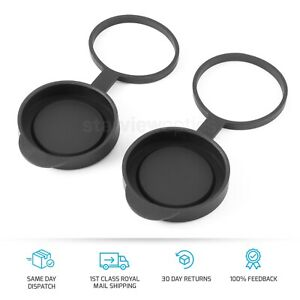 52-53mm Hang Down Objective Lens Cover Caps for 42mm Binoculars 8x42 10x42 12x42