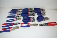 Lot of 35 WorkPro Pliers Snips Hand Tools