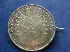 Brosche aus Silber Taler 1760 Bayern  W/20/495