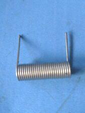 torsion Spring  OD 8.8mm x 27mm, wire OD:: 1mm , length of each leg: 19mm