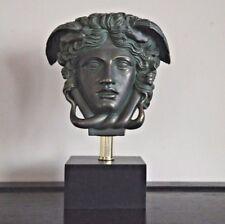 "Medusa Bust Head Greek Roman Versace Statue Sculpture 11"" Replica Reproduction"
