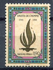19605) UNITED NATIONS (Geneve) 1988 MNH** Human Rights.