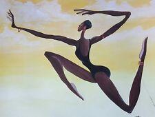 AFRICAN AMERICAN ART & PRINTS-Soar (16 x 20 New Unframed)