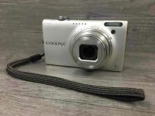 Nikon Coolpix S6000 Digital Camera Compact Silver