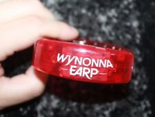 SDCC 2017 WYNONNA EARP Promotional Light Up Flash Bracelet! Party Exclusive RED