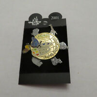 Disney WDW 2001 Artistry of the Earth Spinner Pin
