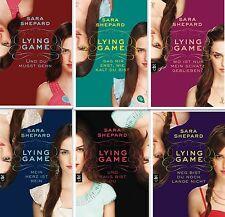 Sara Shepard Lying Game Serie 1 2 3 4 5 6 Und raus bist Du Und du musst gehn