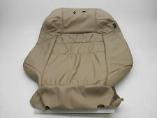 NEW OEM 2000-2002 HONDA ACCORD COUPE TAN LEATHER SEAT COVER UPPER LH DRIVER