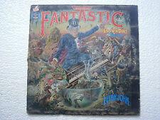 ELTON JOHN CAPTAIN FANTASTIC THE BROWN DIRT COWBOY  LP RECORD ENGLAND VG
