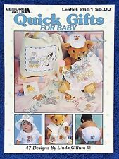 Cross Stitch Pattern Quick Gifts for Baby 47 Motifs