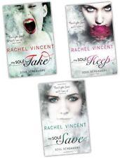 Rachel Vincent Soul Screamers 3 Books Collection Set Twilight Sagas fans love It