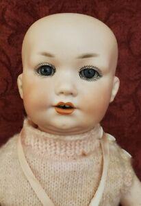 "Antique German Armand Marseille 971 Bisque Head Baby Doll 16"""