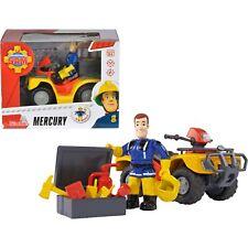 Simba Feuerwehrmann Sam Mercury-Quad mit Figur, Konstruktionsspielzeug