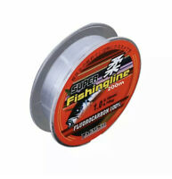 Fishing Line Tackle Fluorocarbon Super Strong Japanese 200m Nylon Transparent