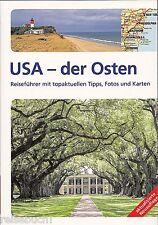 REISEFÜHRER USA DER OSTEN 2015/16, viele Landkarten, New York Boston Miami, NEU