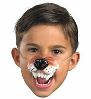 Wolf Brown Wild Animal Jungle Story Book Week Child Girls Boys Costume Nose
