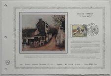 Document Artistique DAP 610 1er jour 1983 Maurice Utrillo Le lapin agile Peintre