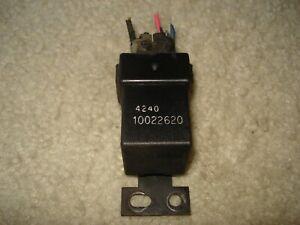 Pontiac Fiero SE, GT, Formula 1984-86 Headlamp Headlight Isolation Relay OEM