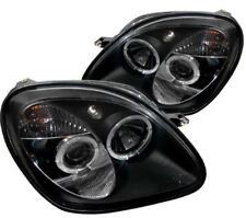 Spyder Projector Headlights - LED Halo - Black 1piece for 1998-2004 Mercedes SLK