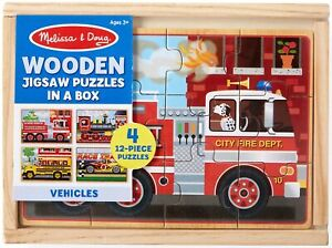 Vehicle Puzzles In A Box-MD3794