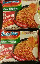 2 x INDOMIE Mi Goreng Rendang Instant Fried Noodle HOT & SPICY!  2.82oz each