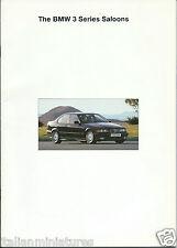 BMW 3 Series 316i SE 318i SE 320i SE 325i SE Brochure + Price List ITEM X 2