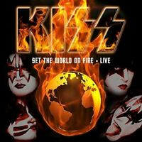 Kiss Set the World on Fire Live  10 CD Box Set - NEW & SEALED