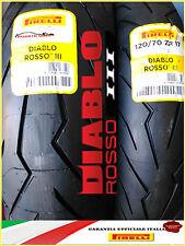 COPPIA 120/70 +180/55 ZR17 (75W) Pirelli Diablo Rosso III 3