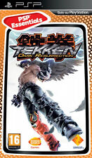 Tekken Dark Resurrection Sony PSP 16 Bandai VGC