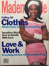 NAOMI CAMPBELL February 1991 MADEMOISELLE Magazine ALEC, DANIEL, BILLY BALDWIN