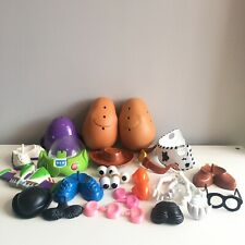Toy story 3 Mr Potato Head COMPLETE plus Lots Of Extra Pieces In Storage Tub Toy