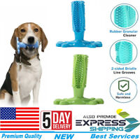 Dog Toothbrush Toy Clean Teeth Brushing Stick Pet Brush Mouth Chewing Clean USA