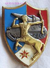 IN13364 - INSIGNE 74° Régiment d'Artillerie, bleu à gauche, 5 galets, 2 pontets