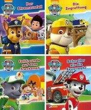 Kinderbuch 4er Bücherset PAW Patrol  Mini-Bücher