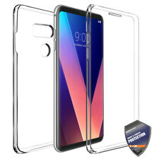 For LG V30 Full Body Coverage Built-in Shock Resistant TPU Case Cover